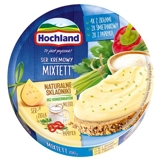 Hochl& Almette Cheese Spread Triangles 200G
