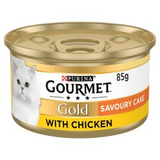image 1 of Gourmet Gold Savoury Cake Chicken 85G