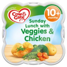 Cow & Gate Sunday Lunch With Chicken 230G 10 Mth+