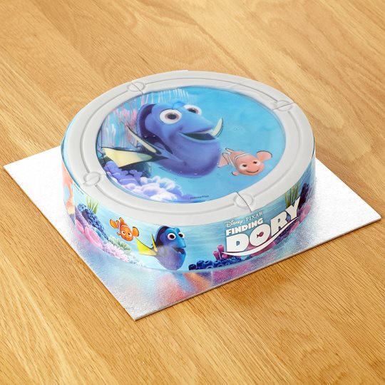 Disney Finding Dory Celebration Cake Groceries Tesco