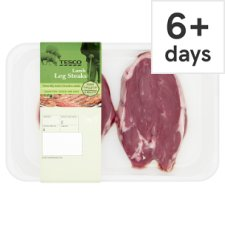 Tesco Lamb Leg Steaks 300G