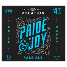 Vocation Brewery Pride And Joy Pale Ale 4X330ml