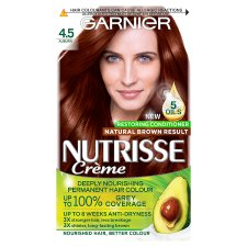 Garnier Nutrisse 4.5 Auburn Red Permanent Hair Dye