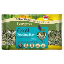 Burgess Excel Feeding Hay With Meadow Flowers 500G
