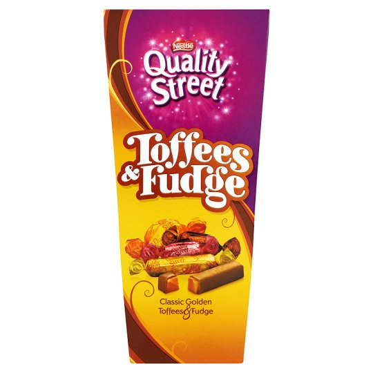 Quality Street Toffee And Fudge Carton 350G