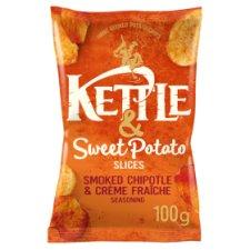 Kettle Crisps Smoked Chipotle & Sweet Potato 100G