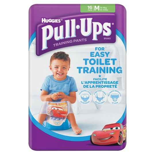 Huggies Pull Ups Boy Medium 16S