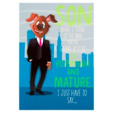 Hallmark Birthday Card Son Humour