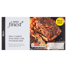 Tesco Finest Pork Belly With Apple And Cider Sauce 410G