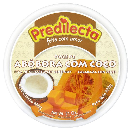 Predilecta Sweet Pumpkin Paste Canned 600G