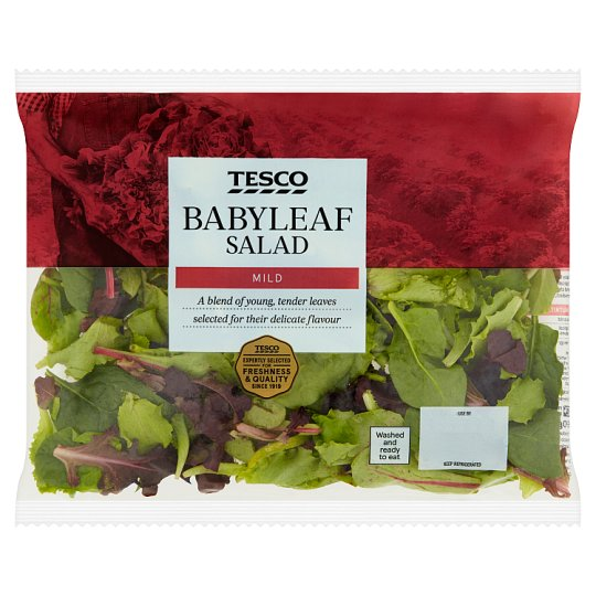 Tesco Babyleaf Salad 60G
