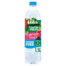 Volvic Sugar Free Summer Fruit Water 1.5L