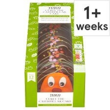 Tesco Curly The Caterpillar Cake