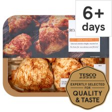 Tesco Ready To Eat Roast British Chicken Thighs 450G