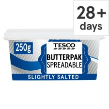 Tesco Butterpak Salted Spreadable 250G