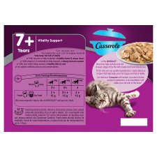 image 3 of Whiskas Senior Fish Casserole Jelly 7+ Cat Pouches 12 Pack