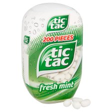 image 2 of Tic Tac Fresh Mint Bottle Pack 98G
