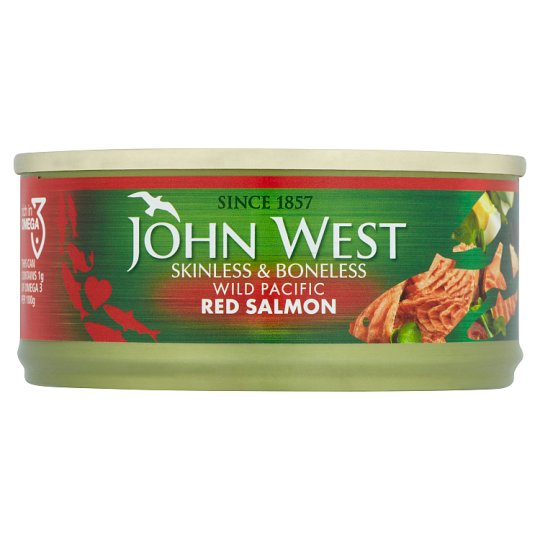 John West Red Salmon Boneless And Skinless 105G
