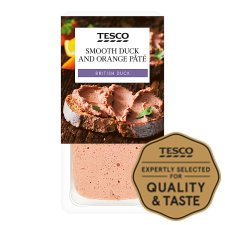 Tesco Smooth Duck And Orange Pate 200G