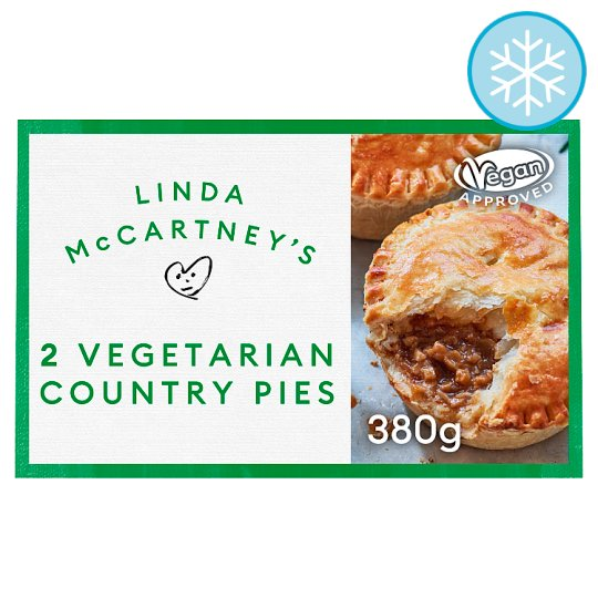 Linda Mccartney 2 Vegetarian Deep Dish Country Pies 380G