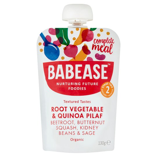 Babease Roasted Vegetable And Quinoa Pilaf 130G