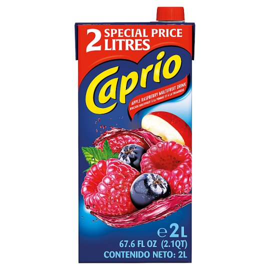 Caprio Apple And Raspberry Drink 2 Litre Carton
