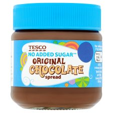 Tesco No Added Sugar Original Chocolate Spread 200G