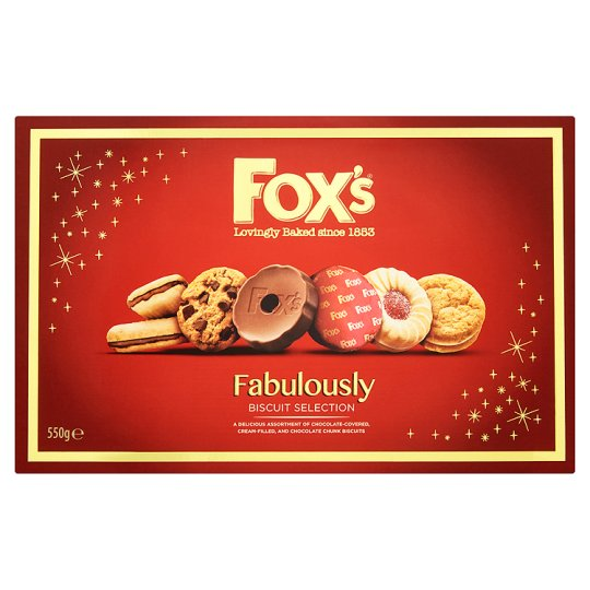 image 1 of Fox Fabulously Biscuits 550G