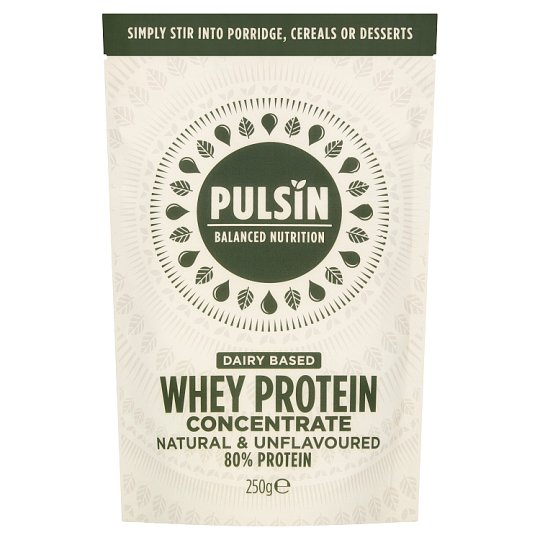 Pulsin Whey Protein Concentrate Powder 250G