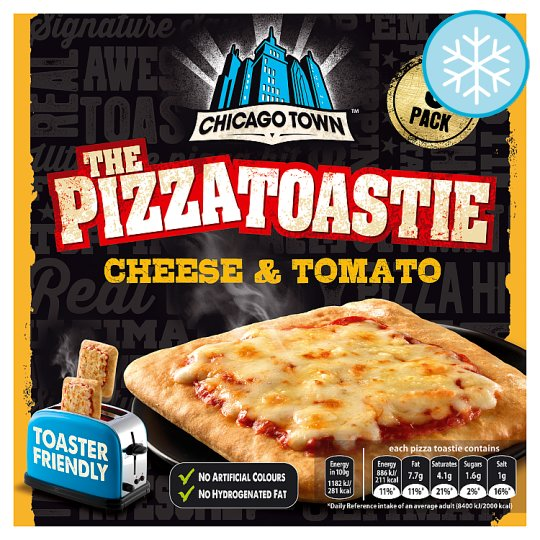 Chicago Town The Pizza Toastie 3 Pack 225G