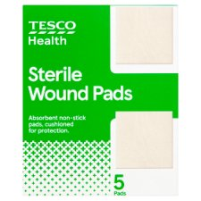 Tesco Low Adherent Dressing 5S