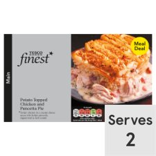 Tesco Finest Chicken Potato Topped Pie 800G