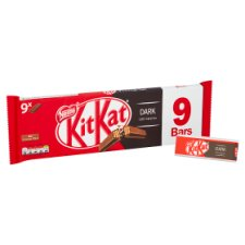 image 2 of Kit Kat 2 Finger Dark Chocolate Biscuits 9 Pack 186.3G