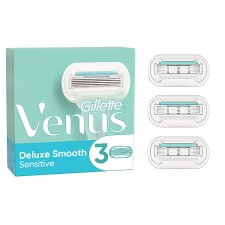 Gillette Venus Deluxe Smooth Sensitive Blades 3 Pack