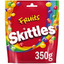 Skittles Fruit Sweets Bag 350G