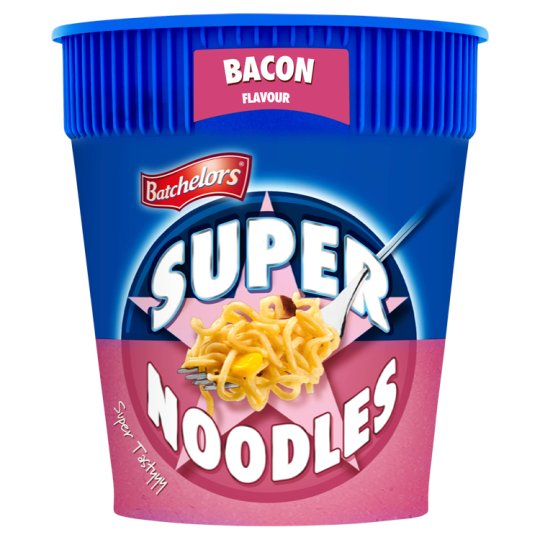 Batchelors Super Noodle Pot Bacon 75G