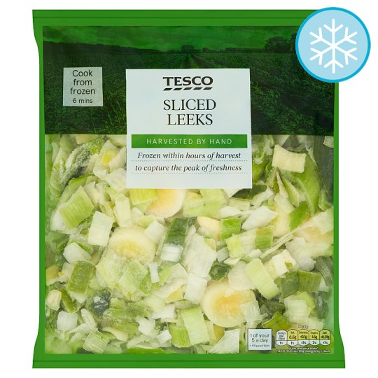 Tesco Sliced Leeks 700G