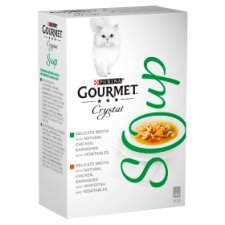 Gourmet Soup With Chicken Fish & Vegetable 4X40gcatfood