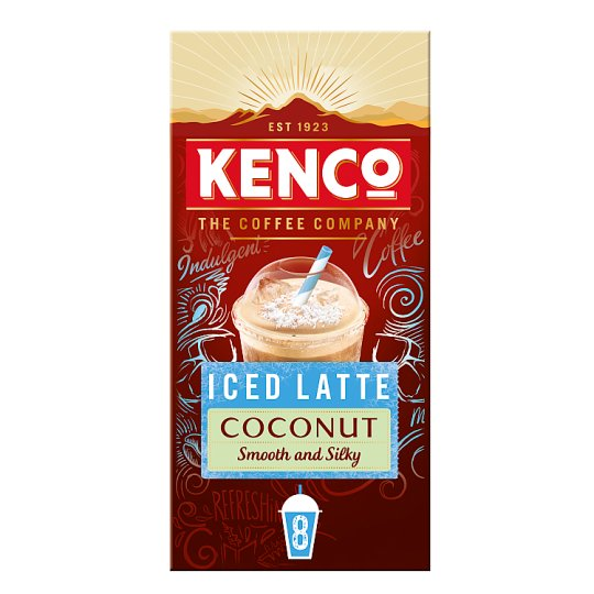 Kenco Barista Iced Latte Coconut 8X21.3G