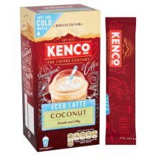 image 2 of Kenco Barista Iced Latte Coconut 8X21.3G