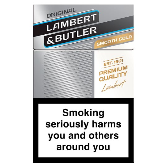 Lambert And Butler Smooth 20 Pack