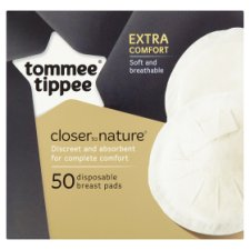 Tommee Tippee Closer To Nature Disposable Breast Pads X50