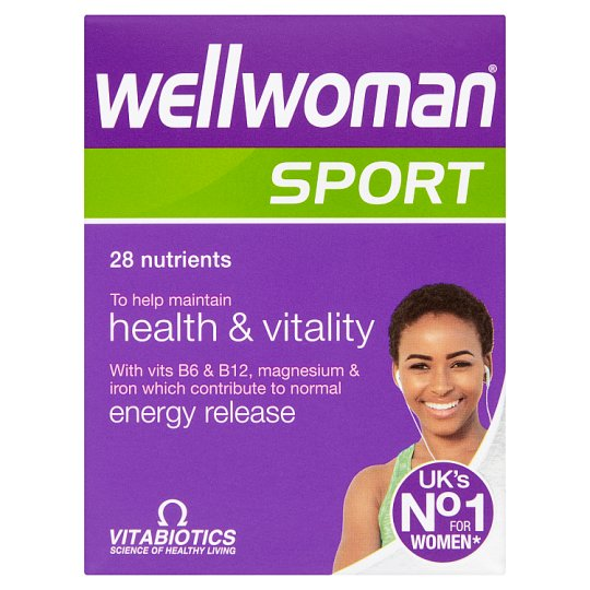Wellwoman Sport And Fitness Tablets X30