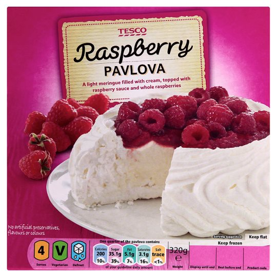 Tesco Raspberry Pavlova 320G