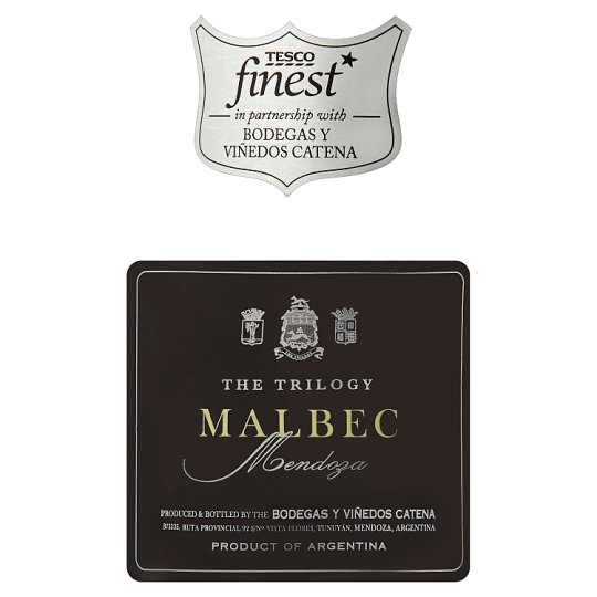 Tesco Finest The Trilogy Malbec 75Cl