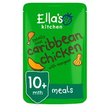 Ellas Kitchen Organic Caribbean Chicken With Mango 190G