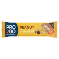 Sci-Mx Pro2go Peanut And Milk Chocolate Bar 60G