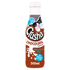 Crusha Chocolate No Added Sugar 500Ml