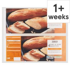 Tesco Homebake Baguettes 4 Pack