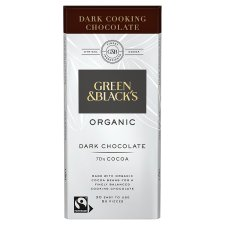 Green And Black Organic Cooking Chocolate 150G